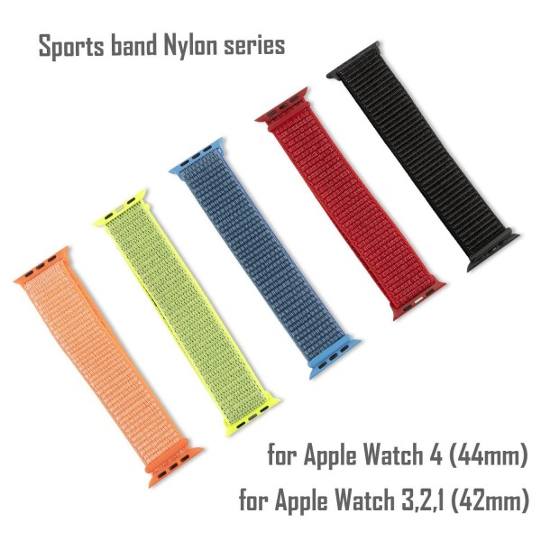 4smarts Sport Band Nylon für Apple Watch Series 5/4 (44mm) und Series 3/2/1 (42mm) - Blau