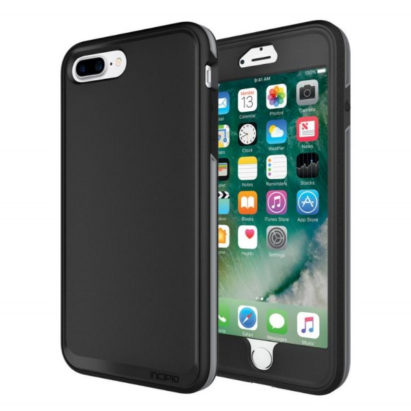 Incipio Performance Series Case [Max] für Apple iPhone 8 Plus / 7 Plus - schwarz/grau