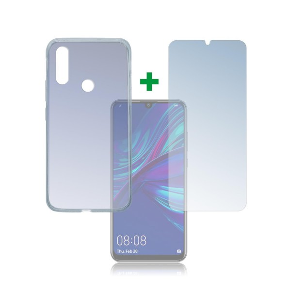 4smarts 360 Protection Set Limited Cover für Huawei P smart+ (2019) - Transparent