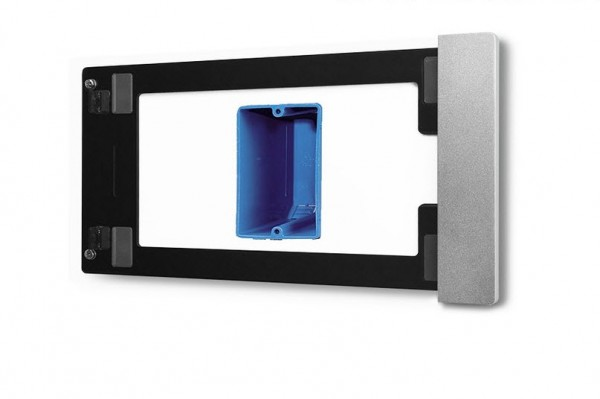 smart things sDock Fix mini 4 s09 - silber - Wandhalterung/Ladestation mit Lightning-Dock für iPad