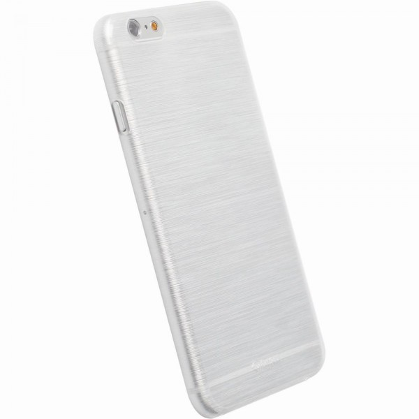 Krusell FrostCover 89989 für Apple iPhone 6 - Transparent Weiss