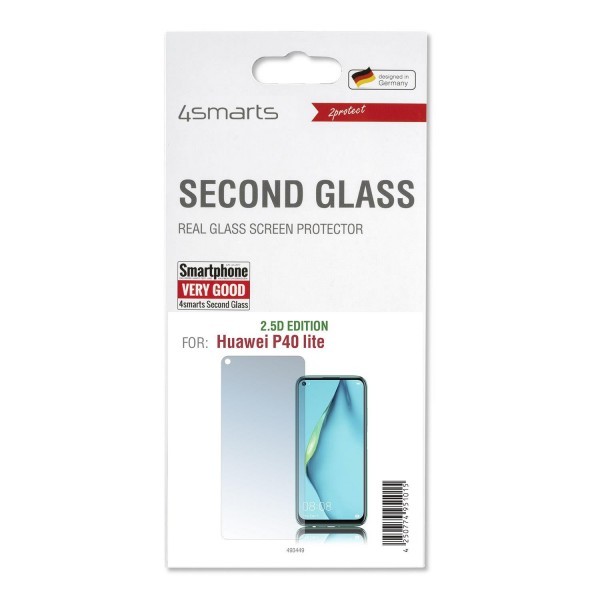 4smarts Second Glass 2.5D Displayschutz für Huawei P40 lite