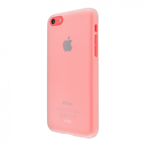 Artwizz Rubber Clip für Apple iPhone 5c - translucent