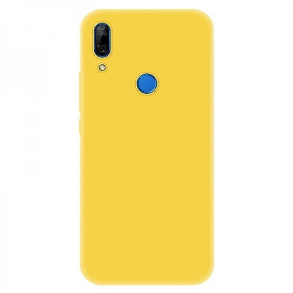 4-OK Slim Colors Schutz Hülle für Huawei P Smart Z - Warm Yellow