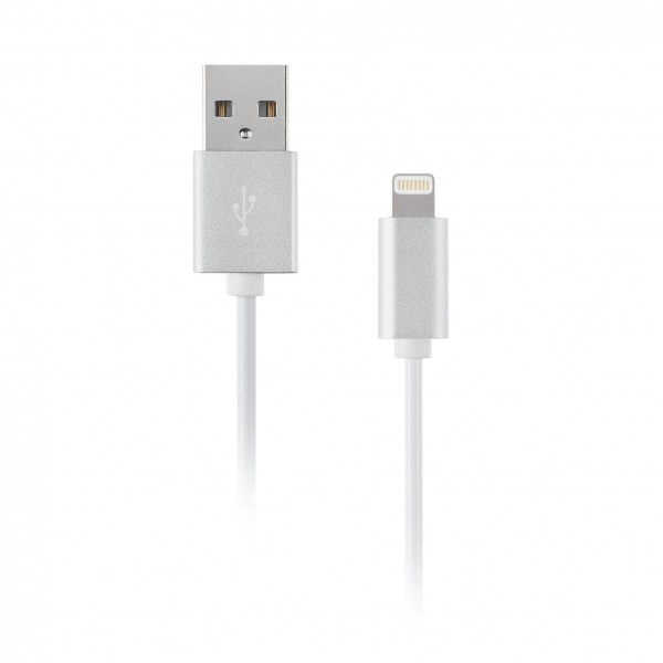Artwizz Lightning Cable Alu - Silber