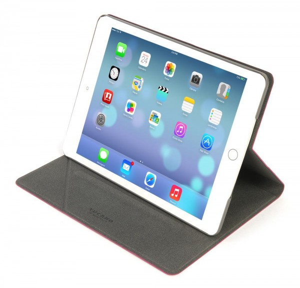 Tucano Angolo Folio Case für Apple iPad Air in Fuchsia