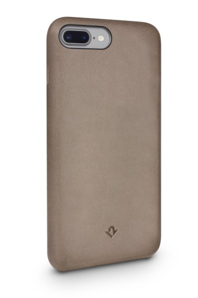 Twelve South Relaxed Leather Clip für Apple iPhone 8/7/6/6S Plus - warm taupe