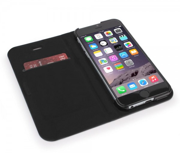 Tucano Filo Booklet Case für Apple iPhone 6 Plus in Schwarz