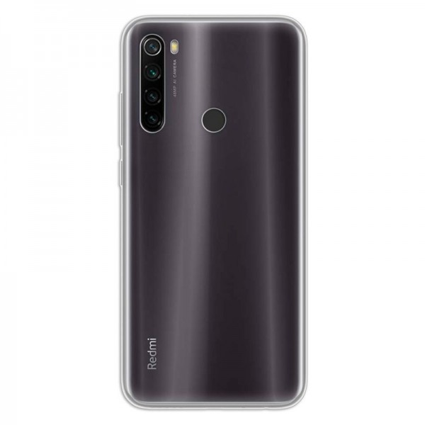 4-OK Ultra Slim 0.2 Case Schutz Hülle für Xiaomi Redmi Note 8T - Transparent
