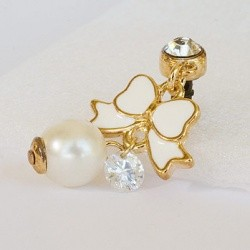 Sushimi Phone Cap white butterfly (018)