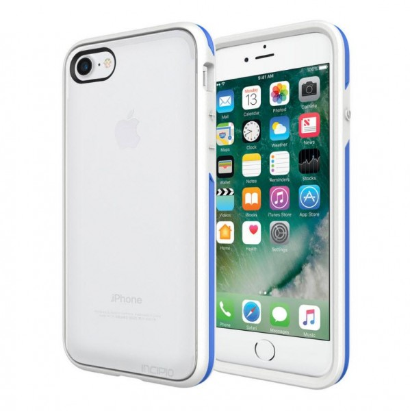 Incipio Performance Series Case [Slim] für Apple iPhone 8, 7, SE(2020) - frost/blau