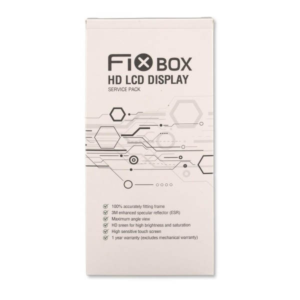 FixBox HD LCD für Apple iPhone 6s Plus weiss