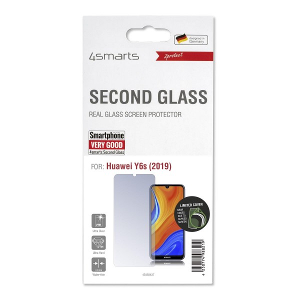 4smarts Second Glass Limited Cover für Huawei Y6s (2019)