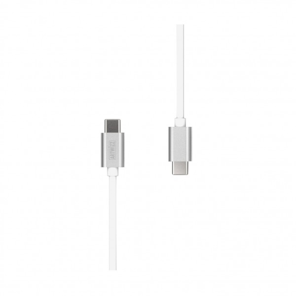 Artwizz USB-C Cable to USB-C male - Silber (1m)