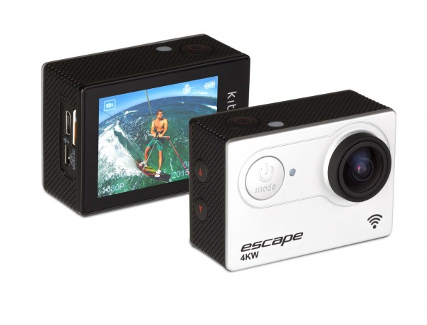 Kitvision Escape 4K Sport Action Camera HD 1080p + WiFi - Weiss