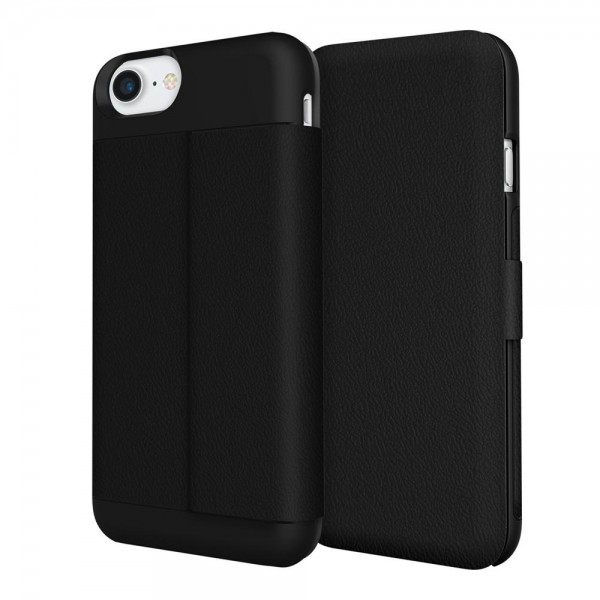 Incipio Wallet Folio Case für Apple iPhone 7 - Schwarz