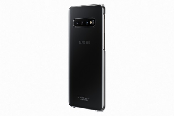 Samsung Clear Cover Schutzhülle für Galaxy S10 Plus - Transparent