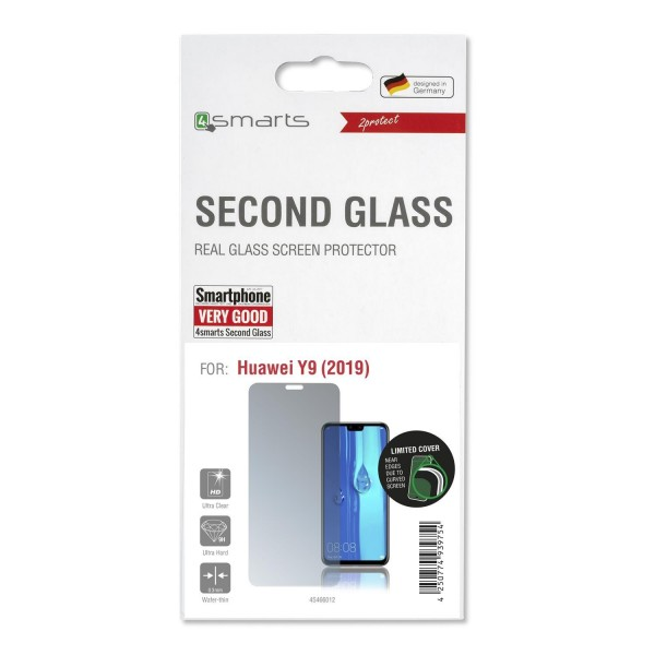 4smarts Second Glass Limited Cover für Huawei Y9 (2019)