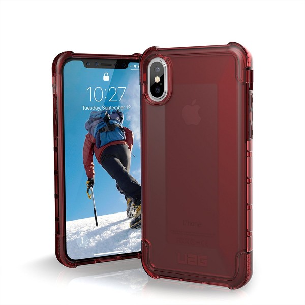 Urban Armor Gear Plyo Case für Apple iPhone X/Xs - Crimson