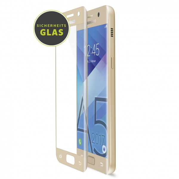 Artwizz CurvedDisplay für Samsung Galaxy A5 (2017) (Glass Protection) - Gold