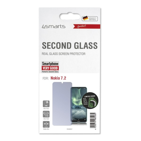 4smarts Second Glass Limited Cover für Nokia 7.2