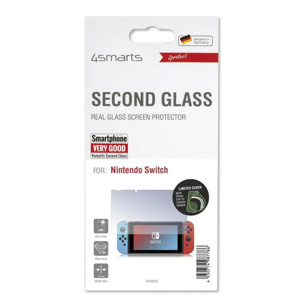 4smarts Second Glass für Ninentdo Switch