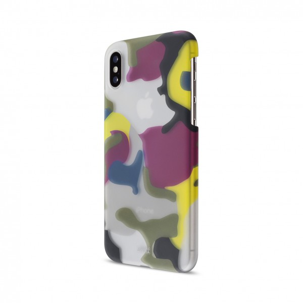 Artwizz Camouflage Clip für Apple iPhone X/Xs - Color