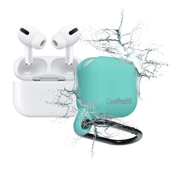 CaseProof Waterproof Case für AirPods pro - Turquoise