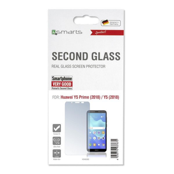 4smarts Second Glass für Huawei Y5 Prime (2018) / Y5 (2018)