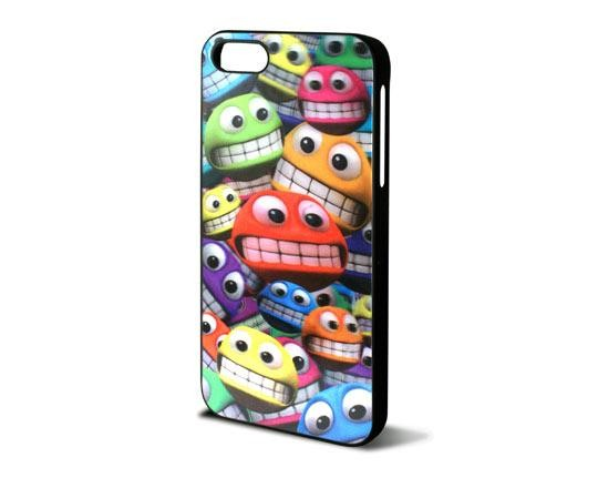 KSIX Freestyle 3D Hard Cover Smileys für Apple iPhone 5
