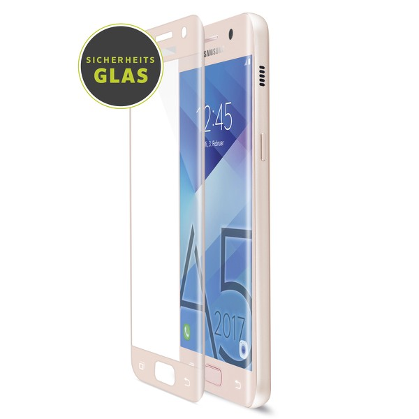 Artwizz CurvedDisplay für Samsung Galaxy A5 (2017) (Glass Protection), peach