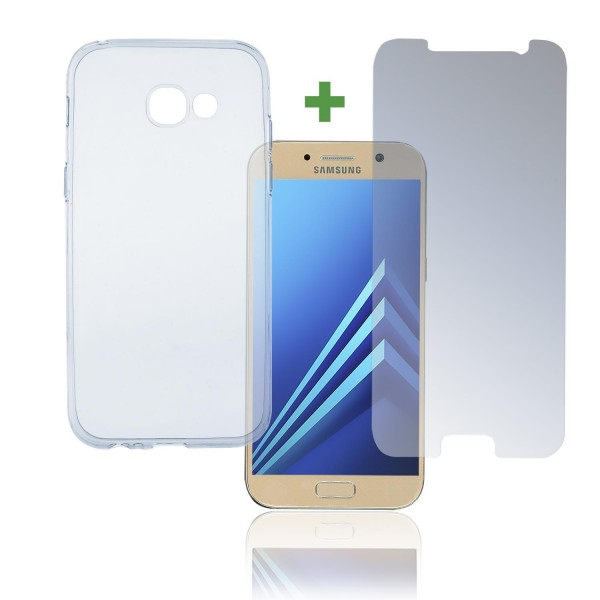 4smarts 360 Protection Set Limited Cover für Samsung Galaxy A5 (2017) - Transparent