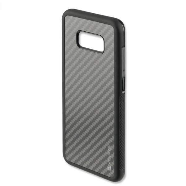 4smarts Clip-On Cover Trendline Carbon für Samsung Galaxy S8 Plus - Schwarz