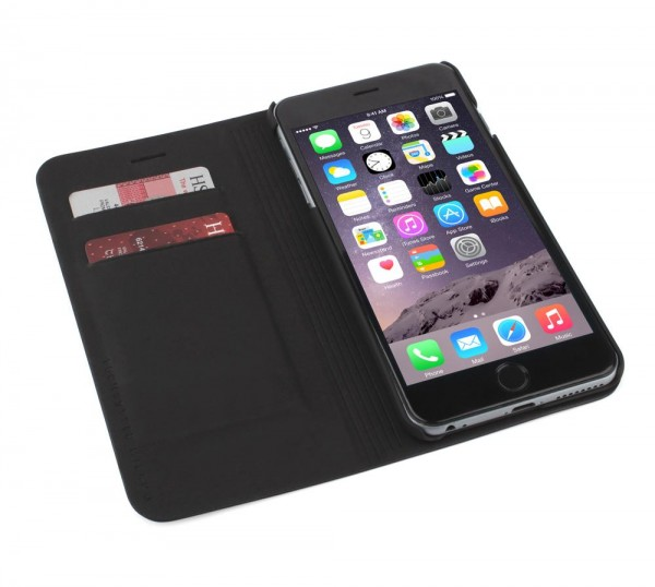 Tucano Libro Booklet Case für Apple iPhone 6 Plus in Schwarz