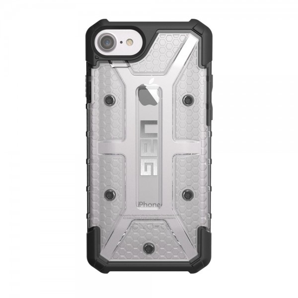 Urban Armor Gear Plasma für Apple iPhone 8/7/6s/6 - Ice/Schwarz