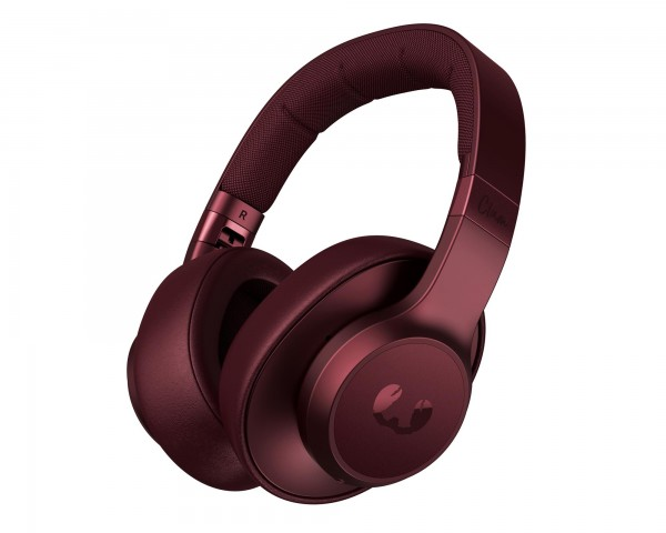 Fresh n Rebel Clam ANC Bluetooth Over-Ear Kopfhörer mit active noise cancelling - Ruby Red