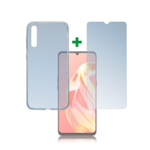 4smarts 360 Protection Set für Oppo A91 - Transparent