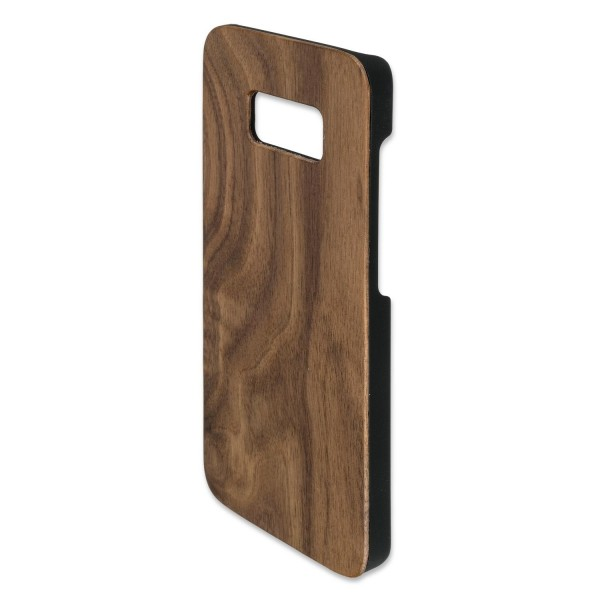 4smarts Clip-On Cover Trendline Wood für Samsung Galaxy S8 - Walnuss