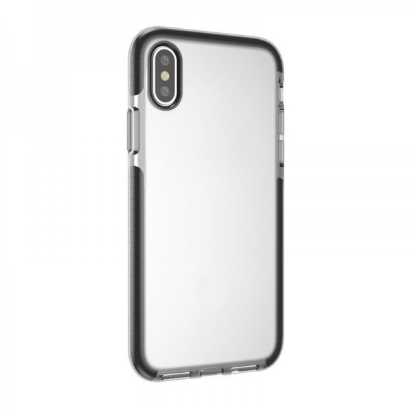 4-OK Impact Shock Cover für Apple iPhone X/Xs - Transparent