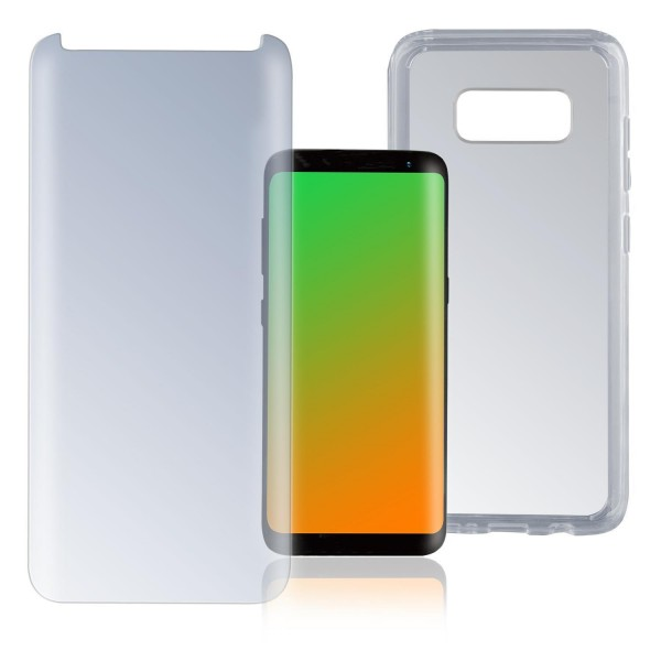 "4smarts 360 Premium Protection Set ""Case Friendly"" für Samsung Galaxy S8 - Transparent"