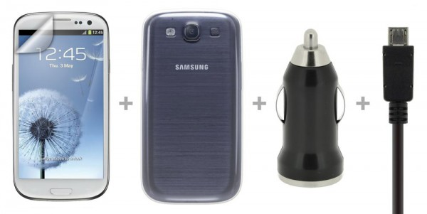 4-OK Start Pack für Samsung Galaxy S3