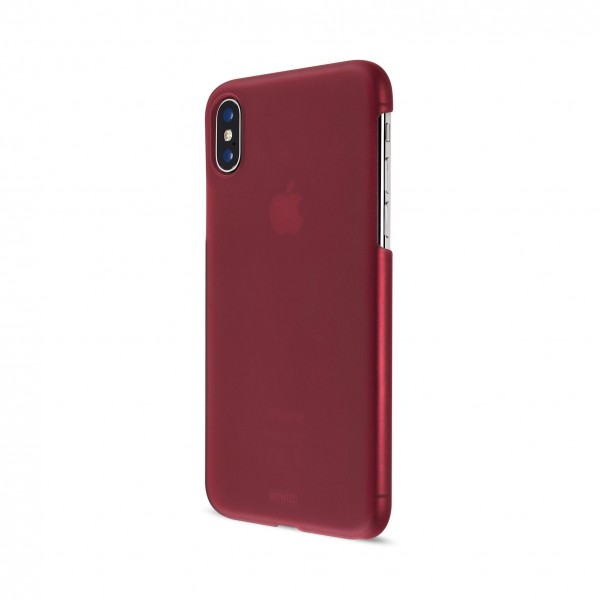 Artwizz Rubber Clip für Apple iPhone X - Berry