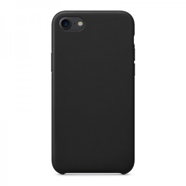 4-OK Silk Eco-Leather Cover für Apple iPhone 7/8/SE (2020) - Schwarz