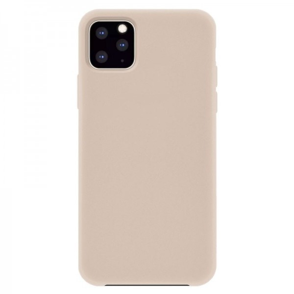 4-OK Silk Cover für Apple iPhone 11 Pro mit Samt-Innenfutter - Make Up (Beige)