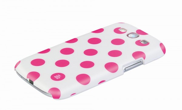 Pat Says Now Galaxy S3 Case Pink Polka Dot (4204)