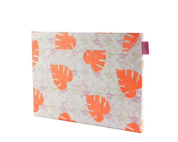 Crispy Wallet Slimsleeve für MacBook 12 und Notebook 12, Flamingo