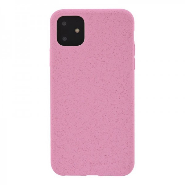 4-OK ECO Cover Biodegradable Hülle für Apple iPhone 11 - Light Pink