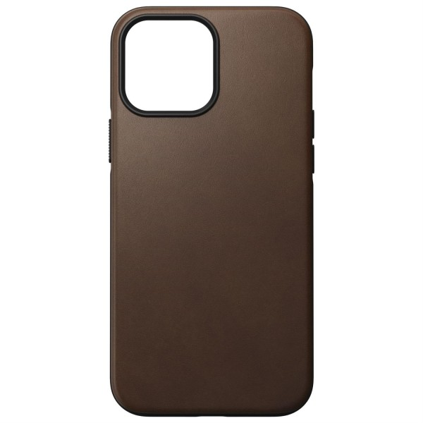Nomad Modern Case Rustic Brown Leather MagSafe für iPhone 13 Pro Max