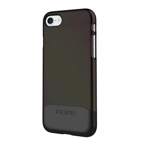 Incipio Edge Chrome Case für Apple iPhone 7 - schwarz/chrom
