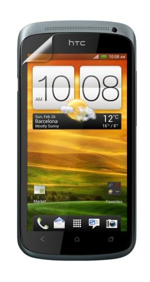 4-OK SCREEN PROTECTOR Display Schutzfolie für HTC One S